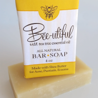 All Natural, Handmade, Bee-Utiful Soap by Amish Country Essentials. 3.5oz