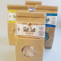 All Natural, Handmade, Bath Salts, Soak by Amish Country Essentials