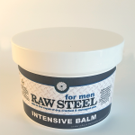 All Natural, Handmade, Raw Steel Mens Balm by Amish Country Essentials. 2oz