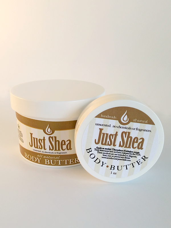 All Natural, Handmade, Shea Butter by Amish Country Essentials. 1oz