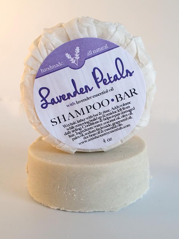 All Natural, Lavender Shampoo Bar