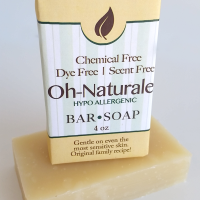 All Natural, Handmade, Oh-Naturale' Soap by Amish Country Essentials. 3.5oz