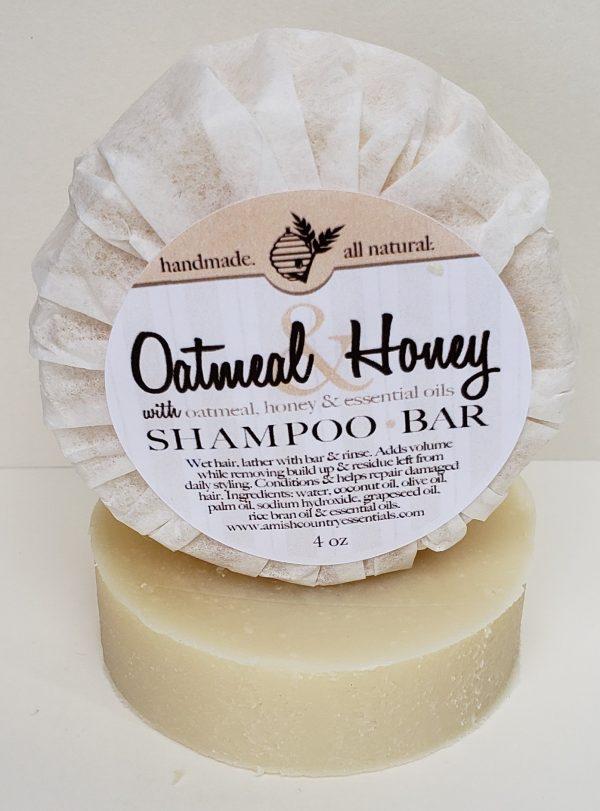 Oatmeal Shampoo Bar
