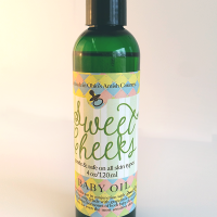 All Natural, Handmade, Sweet Cheeks Baby Oil by Amish Country Essentials