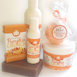 Pumpkin Crunch Bath Bombs, All Natural, By Amish Country Soap Co